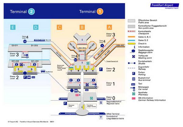 """Схема аэропорта """"Шарль де"""